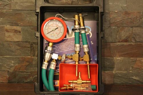 medidor presion nafta motos nautica kit efi mb + pack dvd