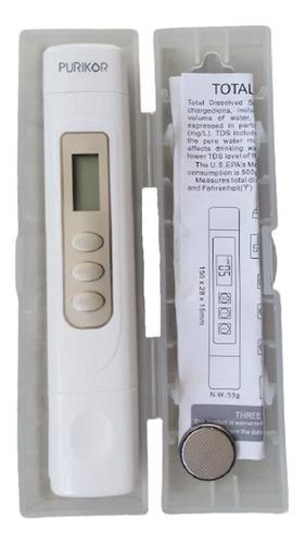 medidor tds de conductividad y temperatura pk-tds3