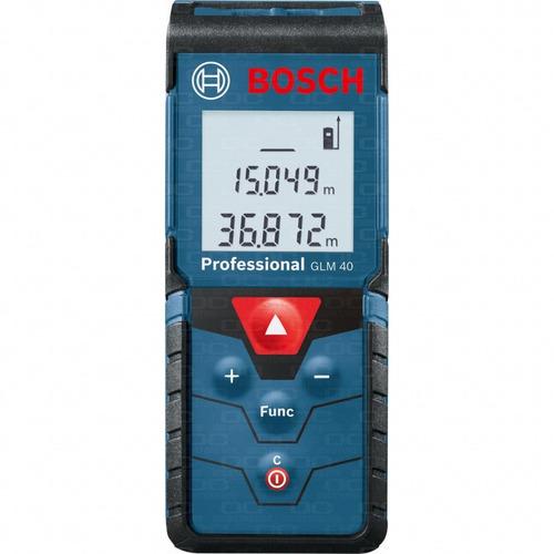 medidor telemetro laser cinta metrica digital bosch glm 40 mide distancia 40mts superficie volumen + estuche