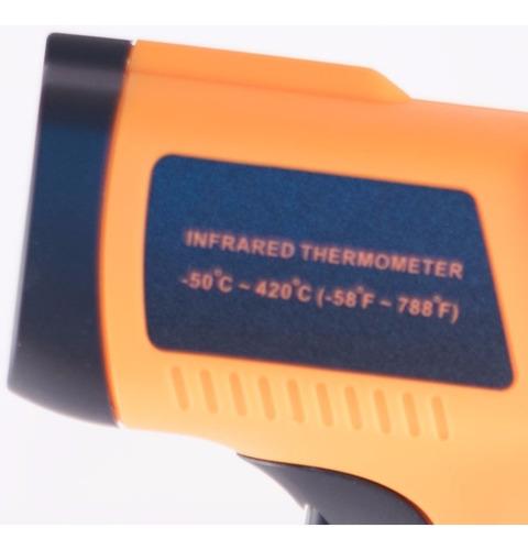 medidor temperatura digital pirometro -50 a 420 inc. pilas