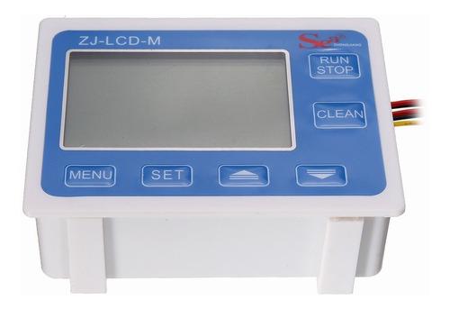 medidor  vazão dosador  automático lcd água  líquidos