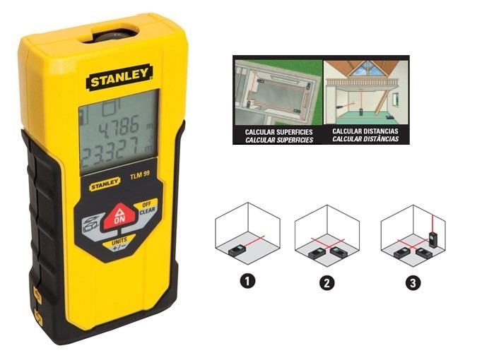 Medidores de distancia laser stanley 30 mts uso for Medidor de distancia laser