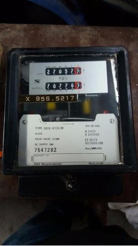 medidores de luz antiguos