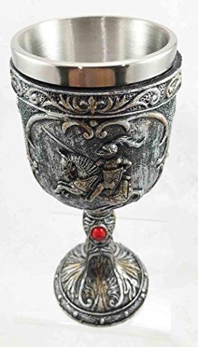 medieval caballero del caballo caballería real diseño vino