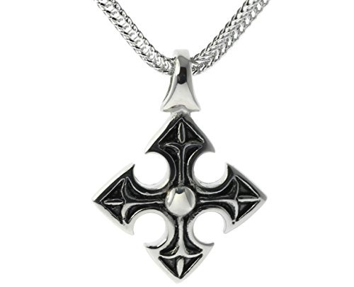 Medieval celtic knight39s templar cross pendant 24 pulga medieval celtic knight39s templar cross pendant aloadofball Image collections