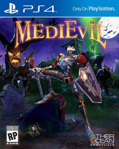 medievil - playstation 4 (físico)