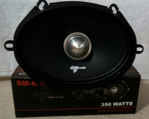 medio 6x8 pulgadas sm audio