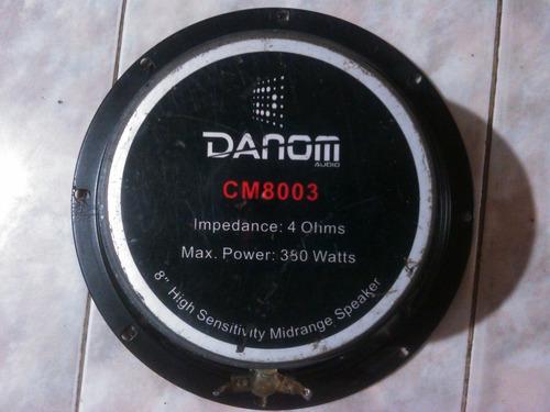 medio 8 danom punta de bala 4 ohms de 380 watts (cm8003)