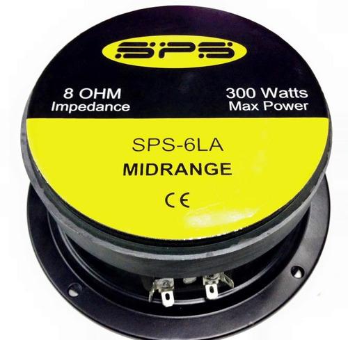 medio alto 6 pulgadas sellado sps 6la 300 watts 8 ohm unidad