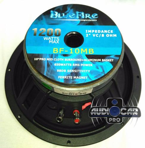 medio bajo bluefire 10 pulgadas modelo bf-10mb 1200 w 8 ohm