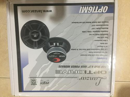 medio bajo lanzar optidrive modelo opti6mi 500 watts 6.5