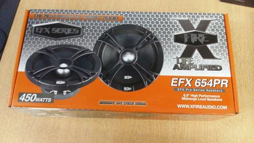 medio bajo xfire audio de 6.5  efx654pr 450 watts - 150 rms