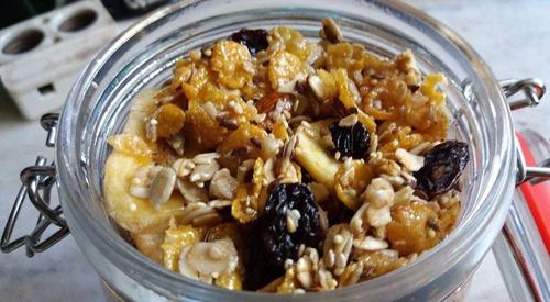 medio kilo de granola premium reverdeser 100% natural