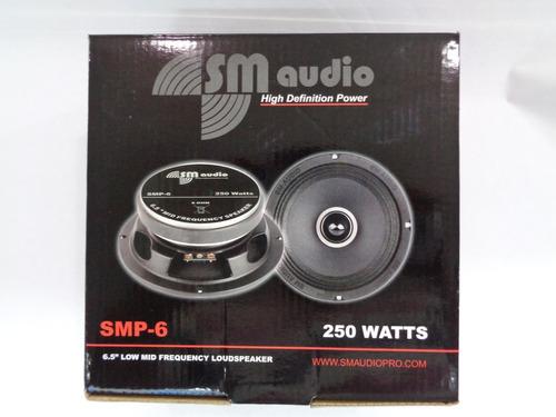 medio sm audio 6.5 pulg semi plano 250watts punta bala 30vrd