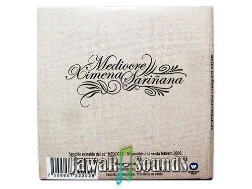 mediocre ximena sariñana - cd sencillo promocional