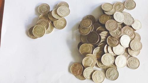medios (0,25) y reales (0,50) de plata