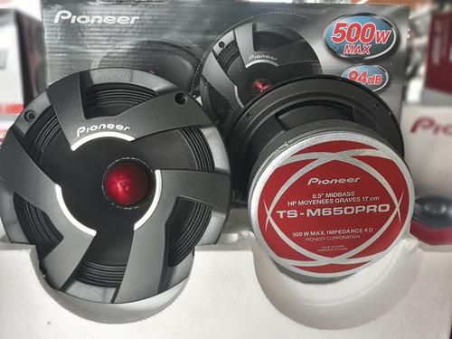medios componentes pioneer 500w calidad 2020 ||  no jbl