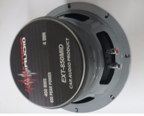 medios extreme audio 8 pulgadas 800w 4 ohm con rejilla