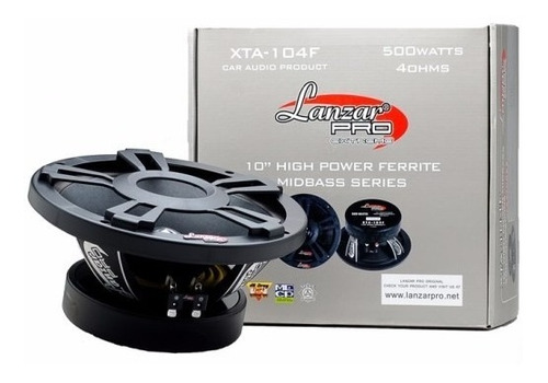 medios lanzar pro 10 xta 104f xtreme 500 watts  (und)