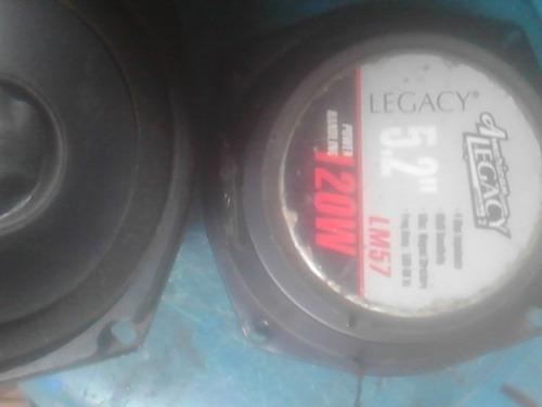 medios legacy de 5.2 de 120watt usados
