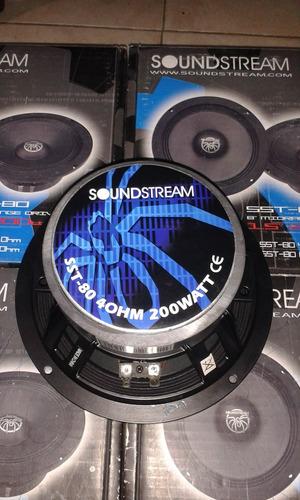 medios soundstream 8 pulgadas