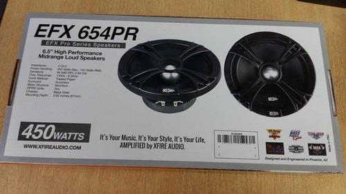 medios xfire audio 6  con mallas nuevos 450watts 150 rms