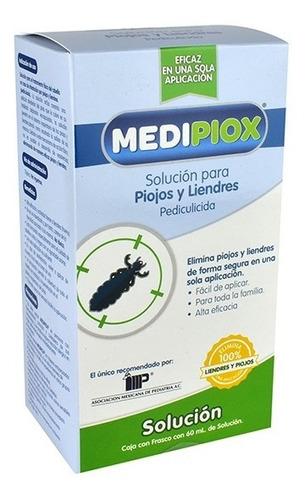 medipiox para piojos y liendres 1 frasco solucion 60 ml