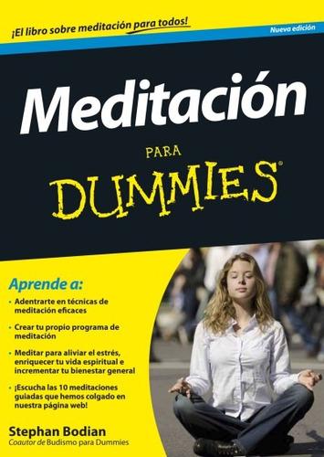 meditación para dummies(libro relajación)