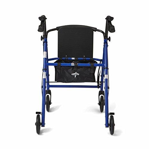 medline  andador plegable de acero para adulto andador de mo