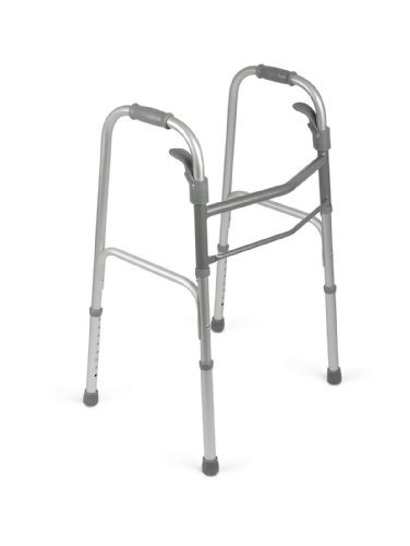 medline mds86410pad plegable paddle  andador sin ruedas esta