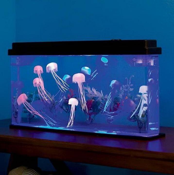 Medusas Artificiales Para Acuario Se Ven Casi Reales