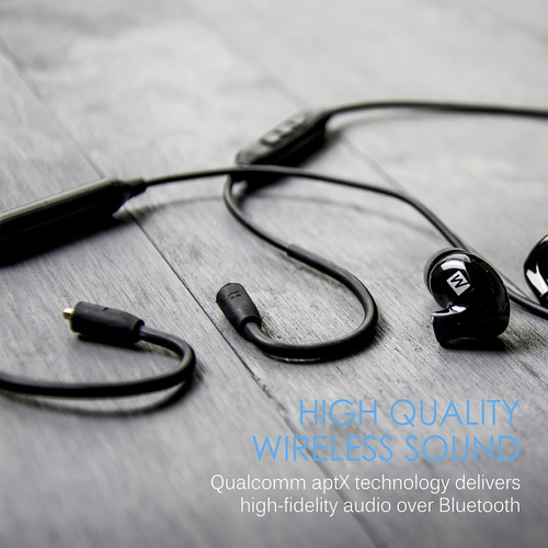 mee audio btx1 bluetooth cable adaptador inalámbrico (wq63)