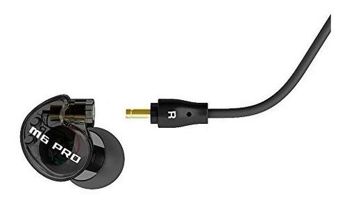 mee audio m6 pro in-ear monitores blk con puntas extra de si