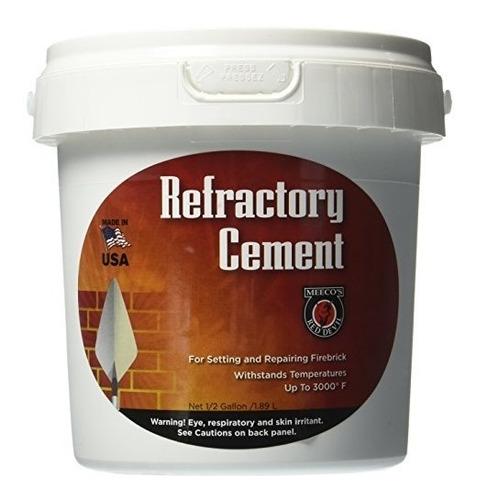 meeco's red devil 610 cemento refractario - uso en