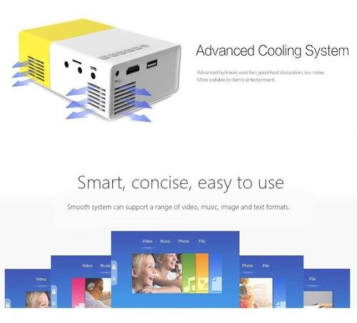 meer yg300 portátil mini pico led proyector de vídeo lcd de