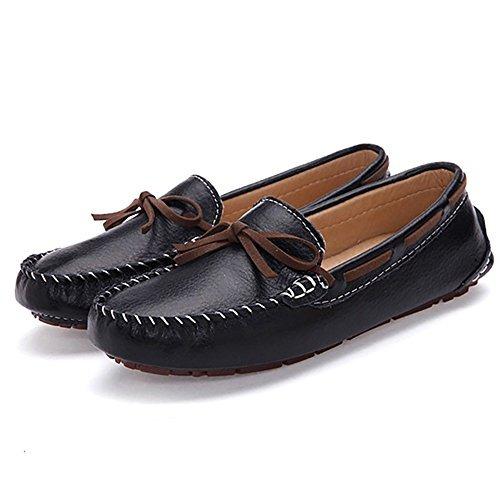 Bo De Para Slip On Mujer Cuero Mocasines Meeshine Zapatos E8H7WwqaOR