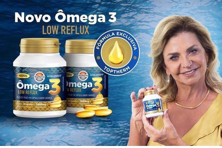 Omega 3 low reflux