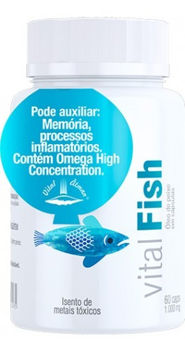 ômega 3 vital fish 100 g - ultimas unidades