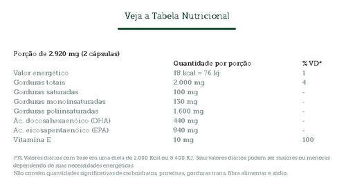 ômega 3 - vital fish - vital âtman 60 cápsulas someway (*)