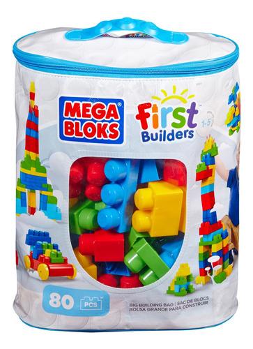 mega blocks bolsa azul clasica