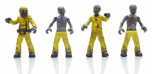 mega bloks call of duty hazmat zombies mob playset w15