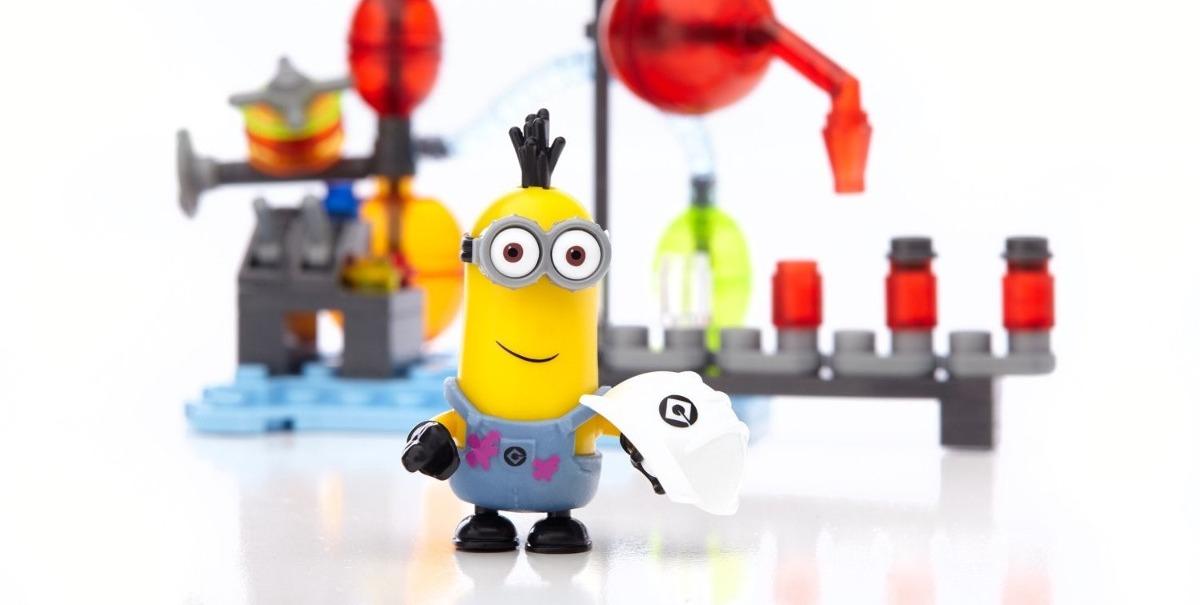 Mega Bloks Despicable Me Minions Made Laboratorio Gelatina - $ 449 ...