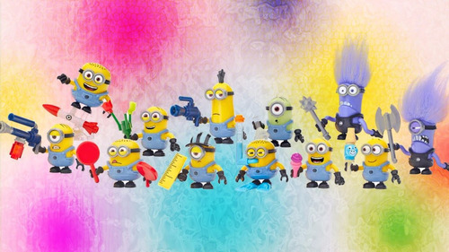 mega bloks despicable minion laboratorio del macho