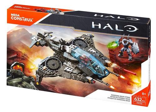 mega bloks figura de acción construx halo 5 wasp