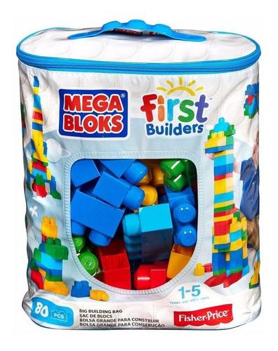 mega bloks first builder, 80 piezas -  envío inmediato