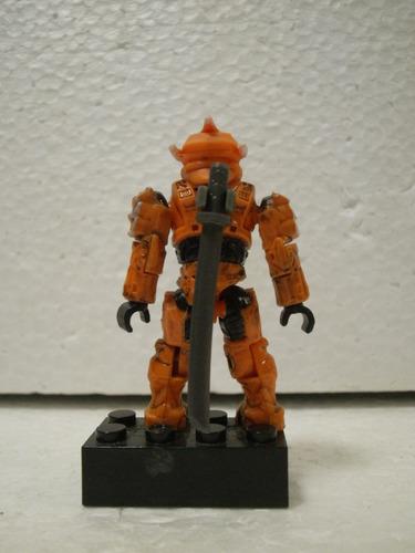 mega bloks halo spartan hayabusa naranja suelto usado