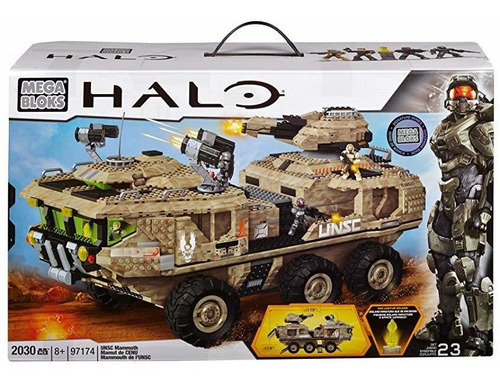 mega bloks halo unsc mammoth vehicle ®