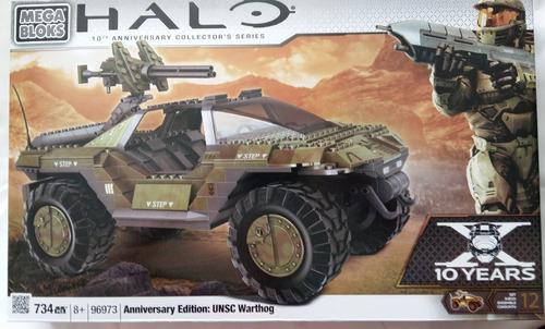 mega bloks halo warthog anniversary edition