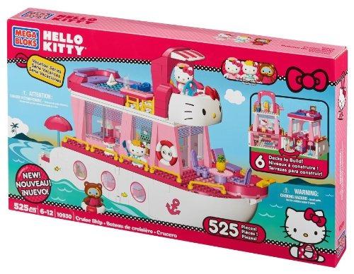 mega bloks - hello kitty - hello kitty cruise ship