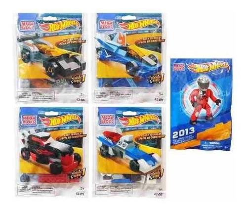 mega bloks hot wheels super racers serie 1 bolsa de agarr!